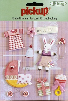 PU3097 Embellishments for Cards and Scrapbooking