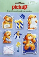 PU3030 Embellishments for Cards and Scrapbooking