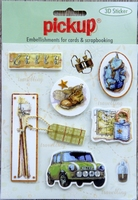 PU3027 Embellishments for Cards and Scrapbooking
