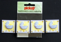 PUK1049 Embellishments for Cards and Scrapbooking