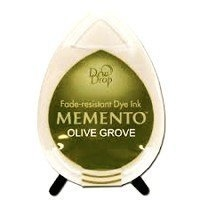 MD708 Memento Inkpad Dewdrops Olive grove