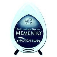 MD607 Memento Inkpad Dewdrops Nautical blue