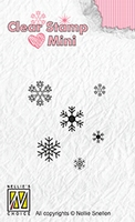MAFS011 Clear stamps mini snowflakes