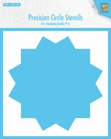 Precision cicle stencils 12-point circle