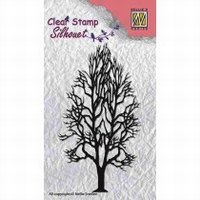 SIL008 Clear stamps - Silhouet - Tree-2