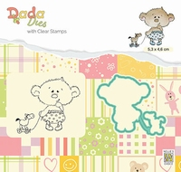 DDCS022 DADA Set Die & Clear stamp My Horse