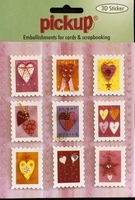 PU3022 Embellishments for Cards and Scrapbooking